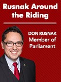 Rusnak Around the Riding