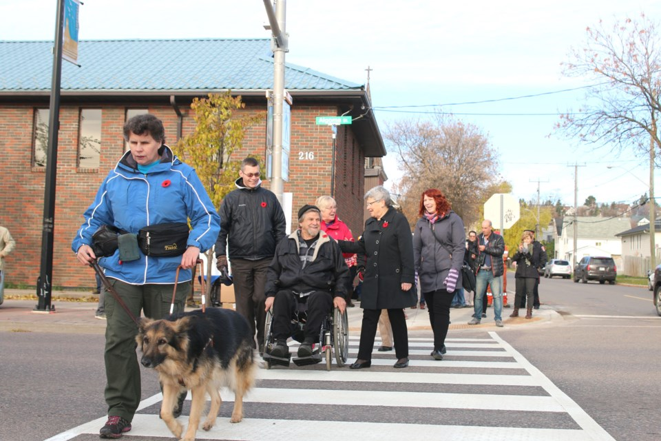Greater Sudbury is getting four new pedestrian crossings in the coming year. (File)