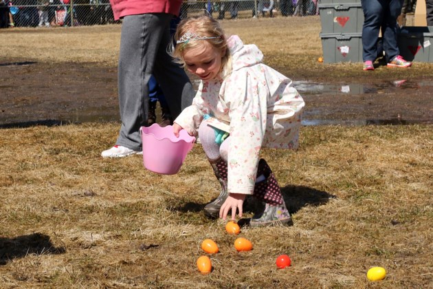 'Fun'-filled time during Easter egg hunt
