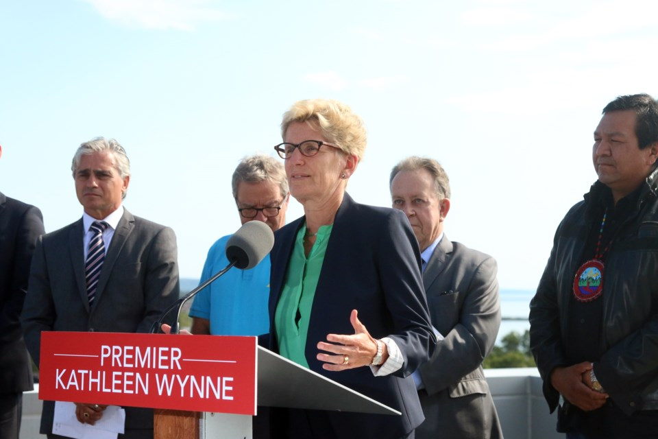 Premier Kathleen Wynne announced on Monday that the government will be moving forward with an all-season road to the Ring of Fire