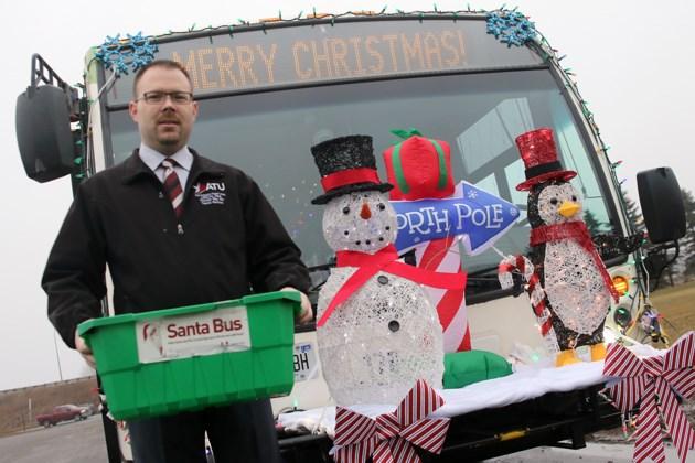 Ken Koza Santa Bus