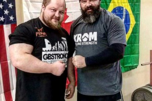 Strongman competition raises funds for charity