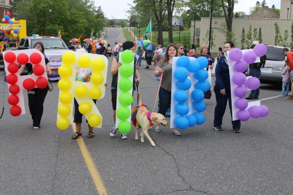 Thunder Pride, which organizes the annual Pride Parade, will be hosting the 2021 Fierté Canada National Pride Conference and Annual General Meeting. (File).
