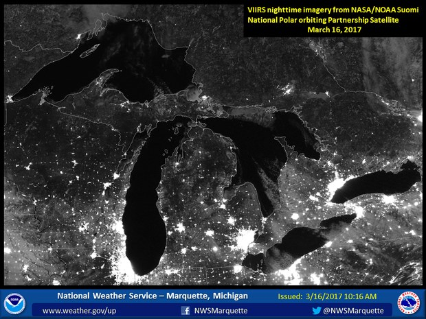 Great Lakes at Night