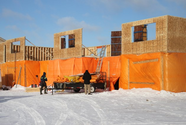 Housing Construction Winter