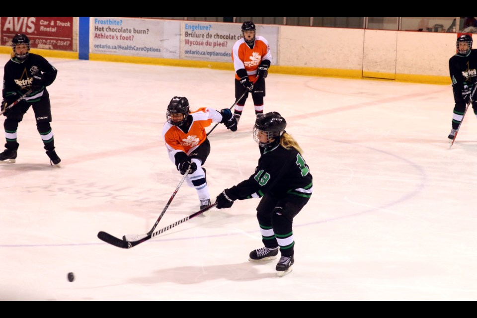 Girls Hit The Ice For Chill Tournament Tbnewswatch Com