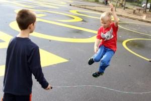 Odgen Community School playground rejuvenated