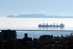 <b>Photos:</b> Fog surrounds Sleeping Giant
