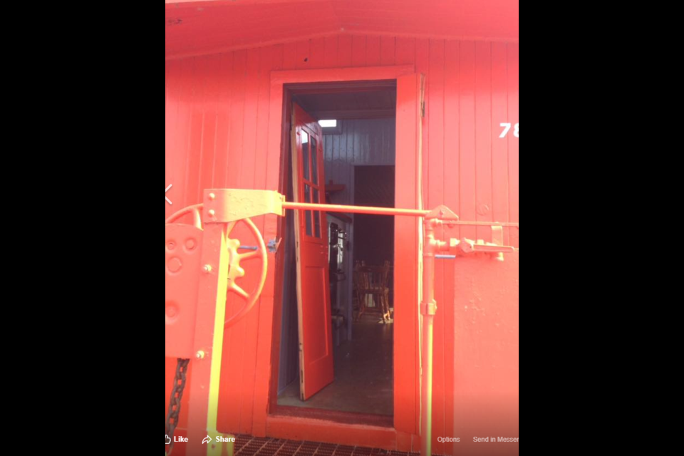 Volunteers Saddened By Damage To Historic Caboose 3