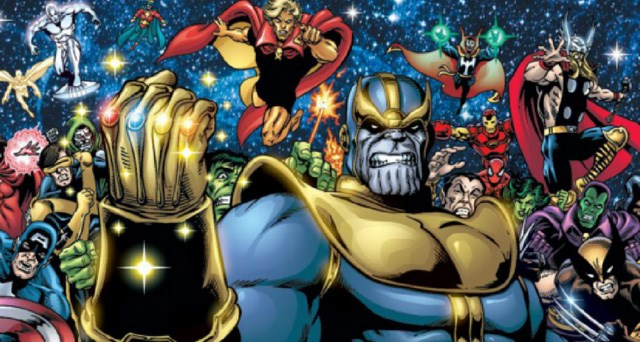 The man behind comic works including Marvel's Thanos, DC's Darkseid and Epic's Dreadstar will appear at this year's ThunderCon. (Images supplied).