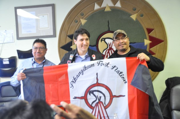 Trudeau visits First Nation with a housing shortage worse than ever