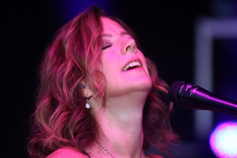 Sarah McLachlan closed out Day 2 of the 2018 Thunder Bay Blues Festival on Saturday, July 7, 2018. (Leith Dunick, tbnewswatch.com)