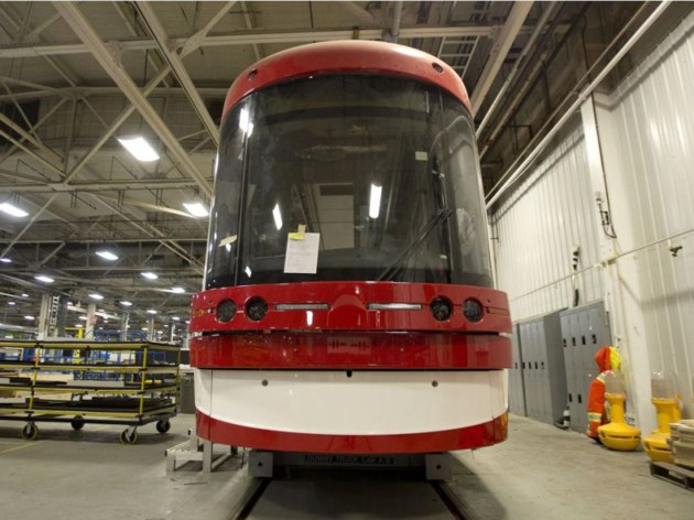 Article: Bombardier to recall 67 Toronto streetcars for maintenance