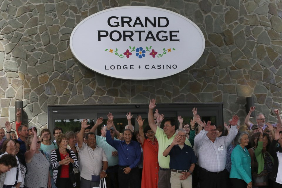 Grand Portage Lodge & Casino held their grand opening after major renovations that have taken place over the last three years. (Michael Charlebois, tbnewswatch.com)