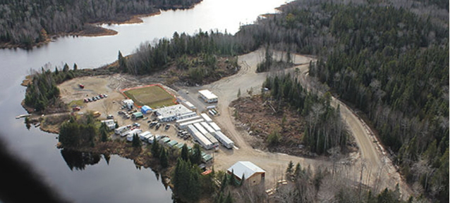 The Hammond Reef camp site (www.canadianmalartic.com)