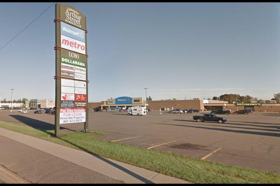 Arthur Street Marketplace (Google Street View)