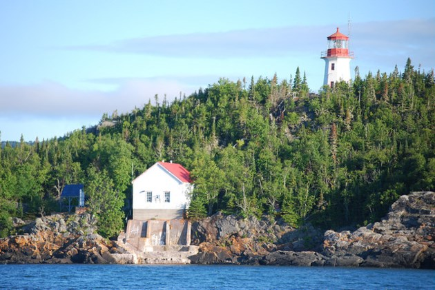 Trowbridge Island lighthouse