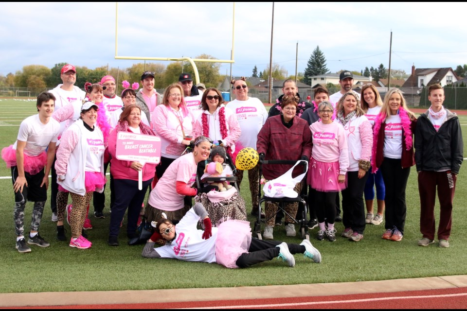 Team Leopard Pack, which includes Blackburn and Francis, raised more than $10,000 this year.