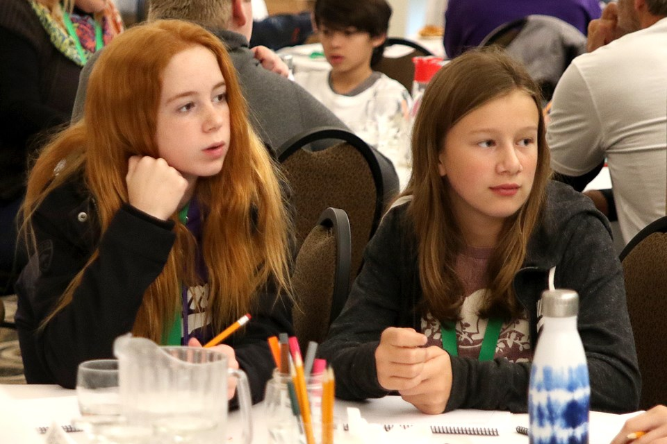About 120 students took part in Eco Superior's Youth Agents for Change Conference at Fort William Historical Park from Wednesday, Sept. 19 to Friday Sept. 21, 2018. (Leith Dunick, tbnewswatch.com)