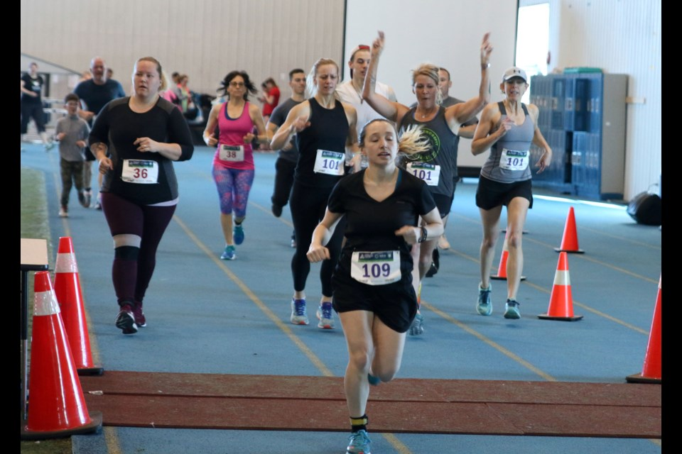 The 10th Annual Charity Run and Walk in support of the Children's Centre Foundation was held on Sunday at the Lakehead University Hangar. (Photos by Doug Diaczuk - Tbnewswatch.com).