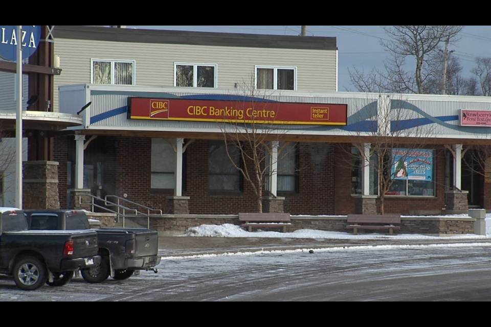 CIBC's branch in Terrace Bay is scheduled for closure in August 2019 (Adam Riley/TBTV)
