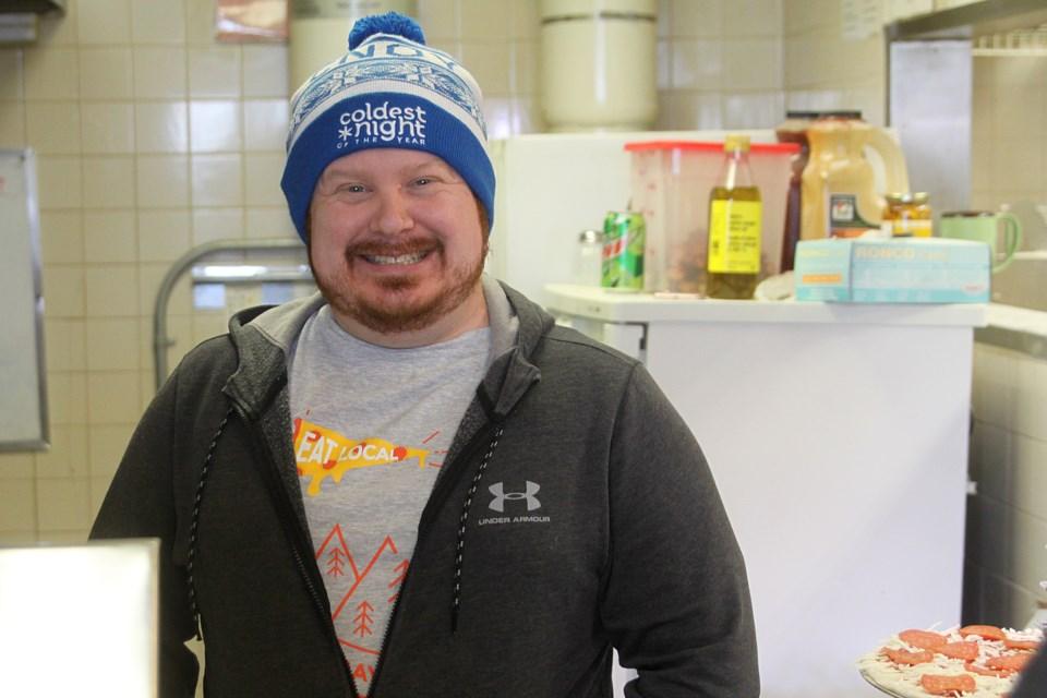 Eat Local Pizza owner Jim Stadey plans to begin producing frozen pizzas in 2019. (Matt Vis, tbnewswatch.com)