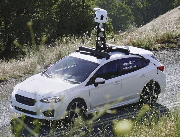 Camera-equipped Apple Maps cars cruise the streets of Thunder Bay