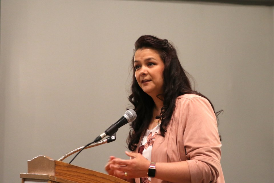 Yuk-Sem Won was selected as the NDP candidate for the Thunder Bay-Rainy River Riding. (Photos by Doug Diaczuk - Tbnewswatch.com).