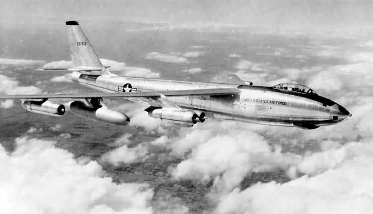 The B-47 Stratojet was a medium range bomber that could fly at 800 km/h or more (Image: b-47.com)