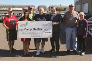 Classic car clubs donate $10K to Camp Quality
