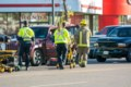 Three vehicles collide on Memorial