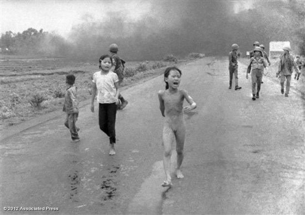 Kim Phuc Was Badly Burned By Napalm During The Vietnam War This Photo Nick Ut Is One Of Most Iconic To Emerge From Conflict
