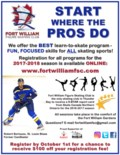 Fort William Figure Skating Club 2017-2018 Season - IN PERSON REGISTRATION