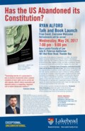 Public Lecture: Has the U.S. Abandoned its Constitution?