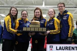 Voyageurs capture university women's curling crown