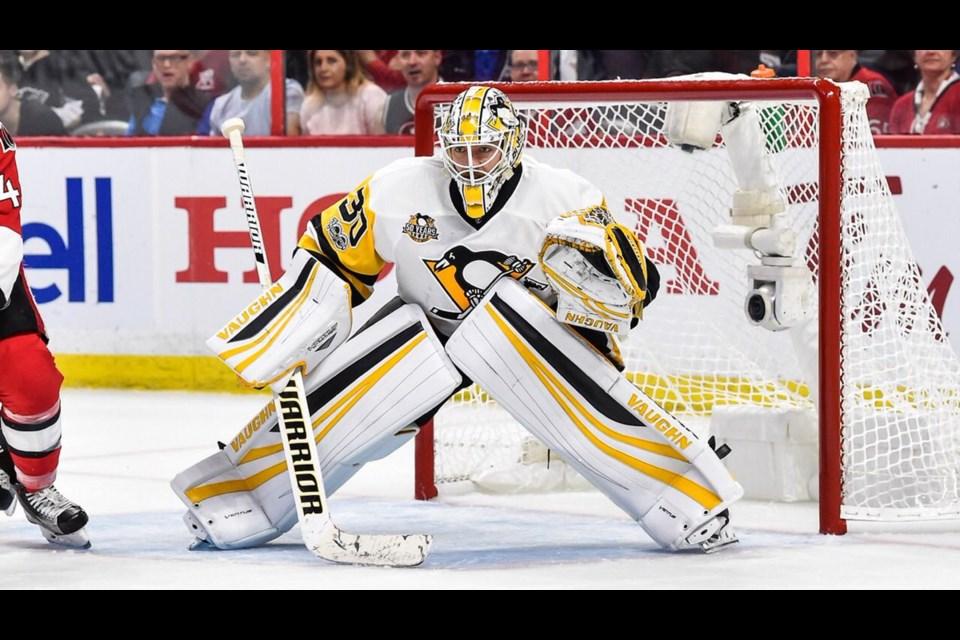 Matt Murray (Pittsburgh Penguins, via Twitter).