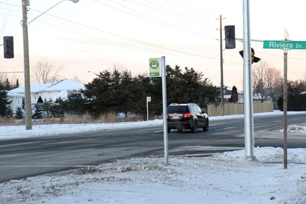 Traffic New Lights Activated At Two Intersections Wednesday