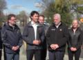 Justin Trudeau tours flood zone in Gatineau, Quebec