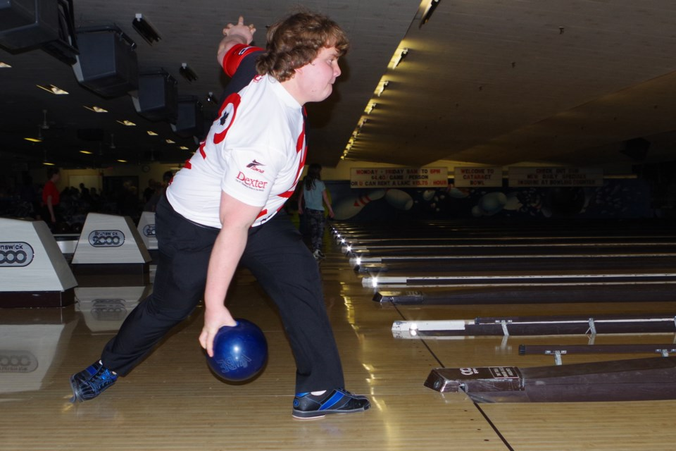Thorold resident Maddie Calvert is among the top youth bowlers in Canada. Bob Liddycoat / Thorold News