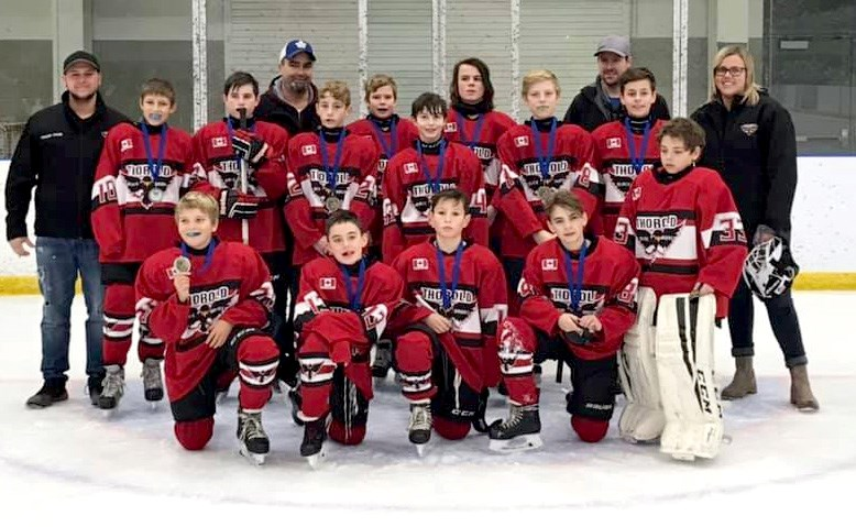 Thorold Newman Electric Peewees Submitted Photo