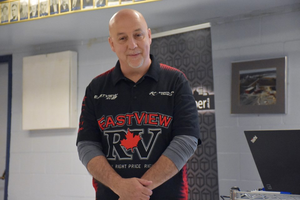 Eastview RV service manager Guy Moisan wants to crush the myths about hiring people with a disability. Maija Hoggett/TimminsToday