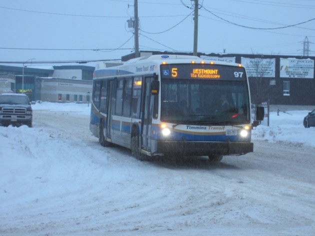 Transit Bus Winter