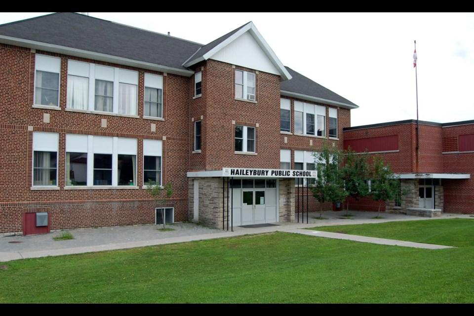 Haileybury Public School a JK to Grade six school in Temiskaming Shores will close on June 30, 2016 after vote by DSBONE School Board Trustees