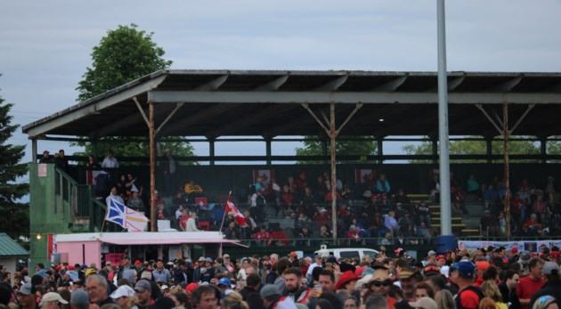 Hollinger Grandstands July 1 2017