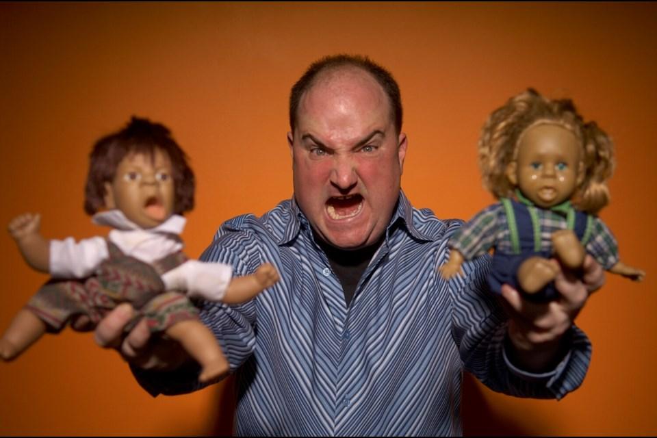Comedian Darren Frost. Photo by David Leyes