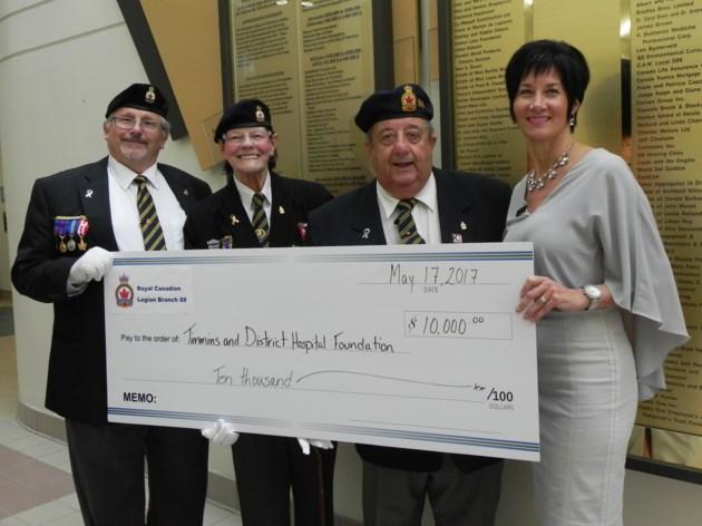 2017-05-17 TADH Legion donation