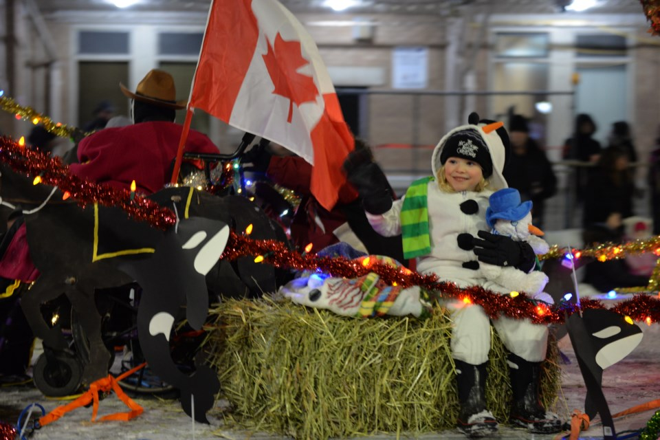 With a theme of Christmas Around the World, there were more than 50 entries in the 2017 Santa Claus Parade downtown Timmins. People lined the streets to catch a glimpse of Saint Nick Nov. 18. Maija Hoggett/TimminsToday