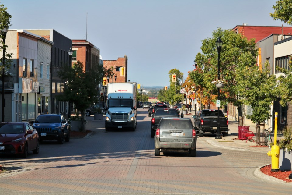 Third Avenue in Downtown Timmins. Andrew Autio for TimminsToday