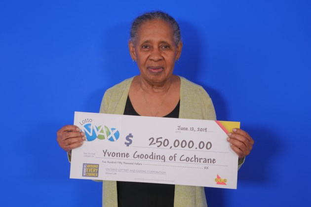 Lotto Max (Maxmillions_Dec 21, 2019_$250,000.00_Yvonne Gooding of Cochrane