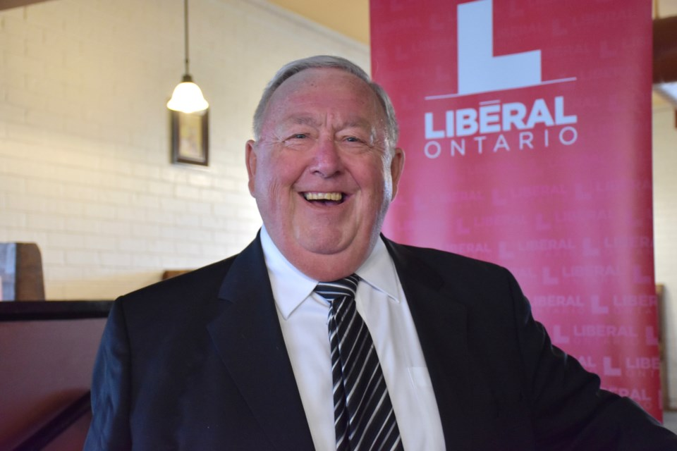 Mickey Auger has been acclaimed as the Timmins Liberal candidate for the June 7 election. Maija Hoggett/TimminsToday